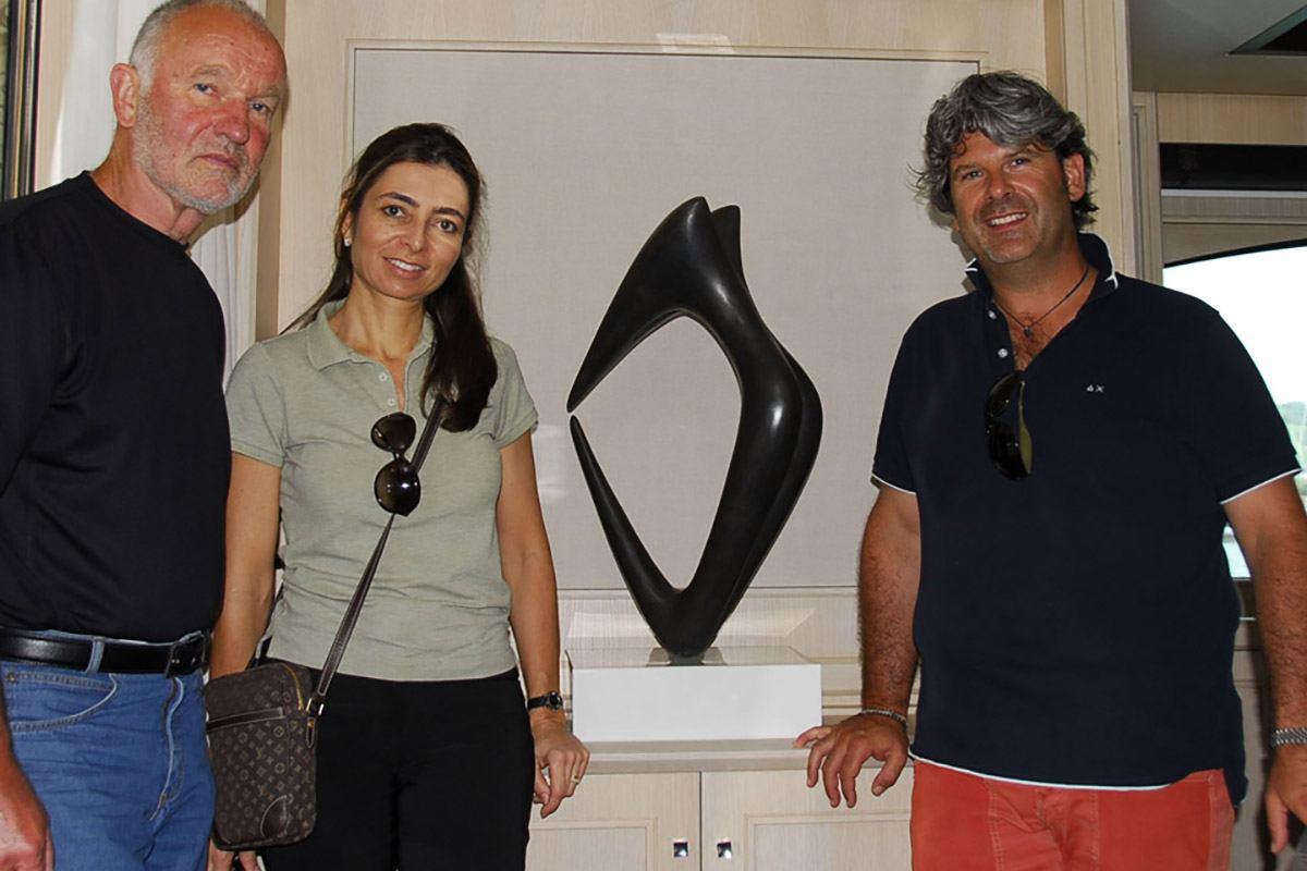 Walter kopp arreda lo yacht kate pellegrini giardini for Architetto arreda