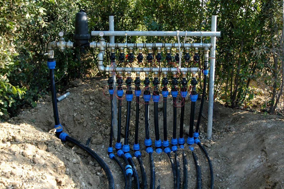 Pellegrinigiardini civitanova marche realizzazioni - Impianto irrigazione giardino ...