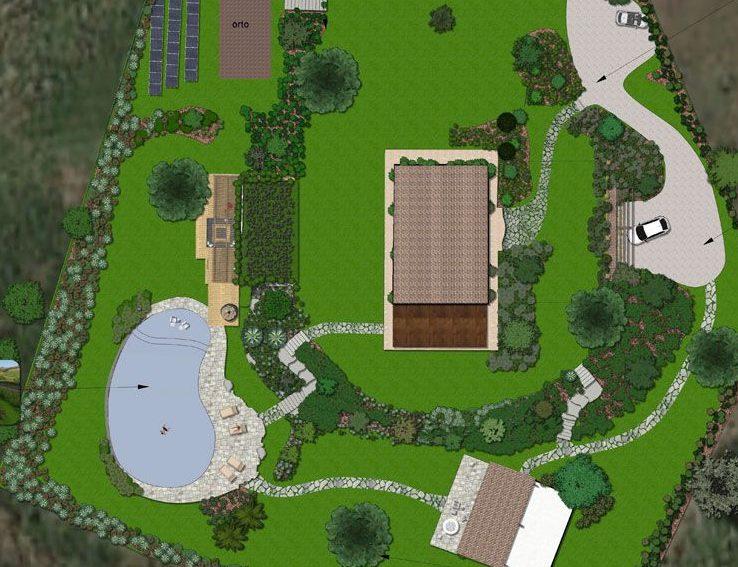 Progettazione esecutiva pellegrini giardini for App progettazione giardini