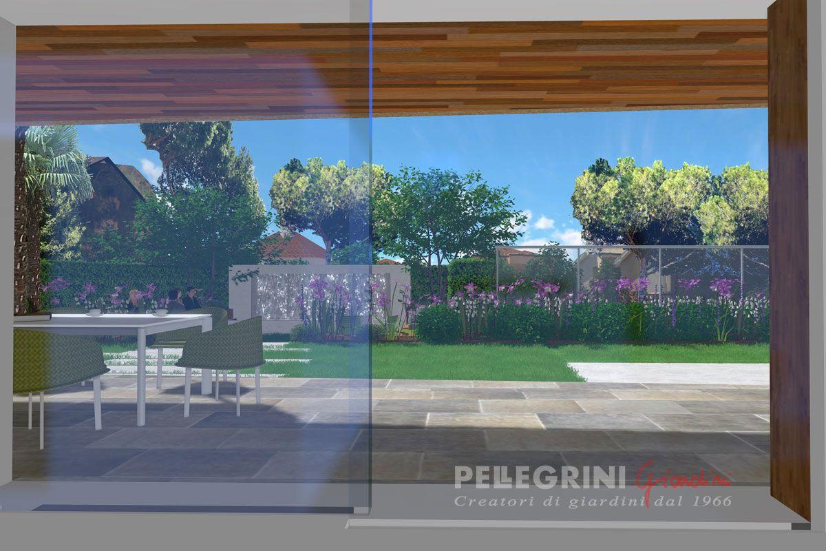 Progettazione Giardini In 3d E Videoproiezione In 4k Pellegrini