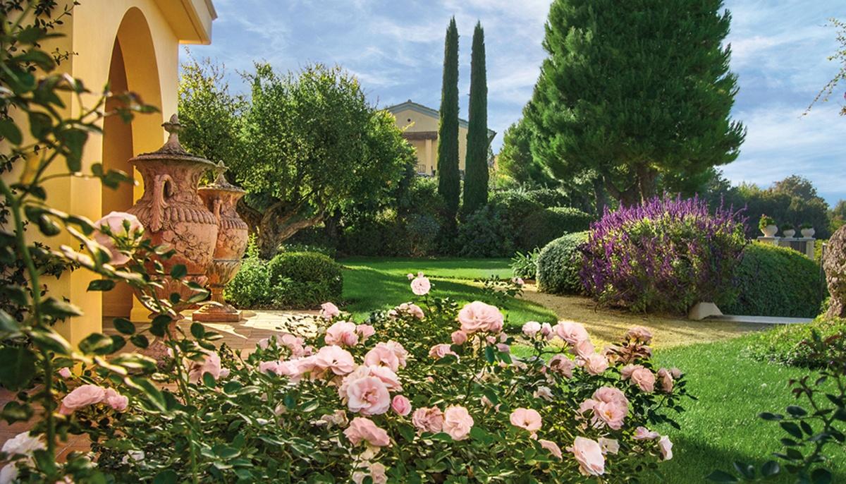Ingresso con rose pellegrini giardini - Ingresso giardino ...