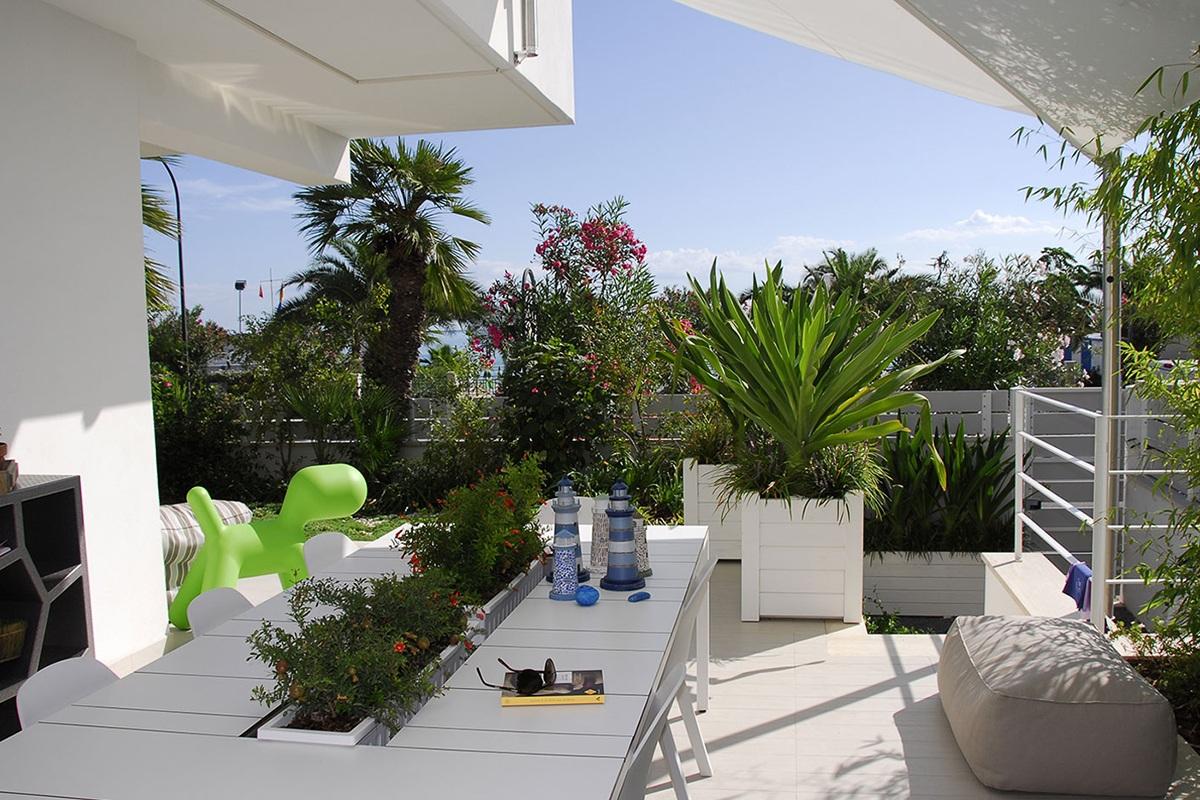 Piccolo giardino per una casa al mare pellegrini giardini - Piccolo giardino ...