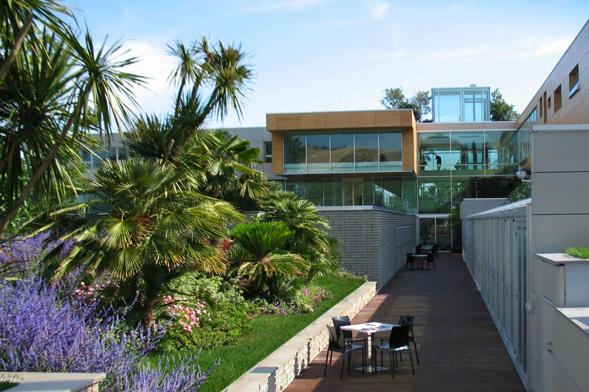 Giardino sede aziendale rainbow loreto pellegrini giardini for Cespugli giardino