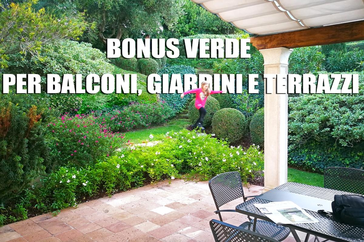 Bonus verde per giardini e terrazzi privati pellegrini - Arredi per giardini e terrazzi ...