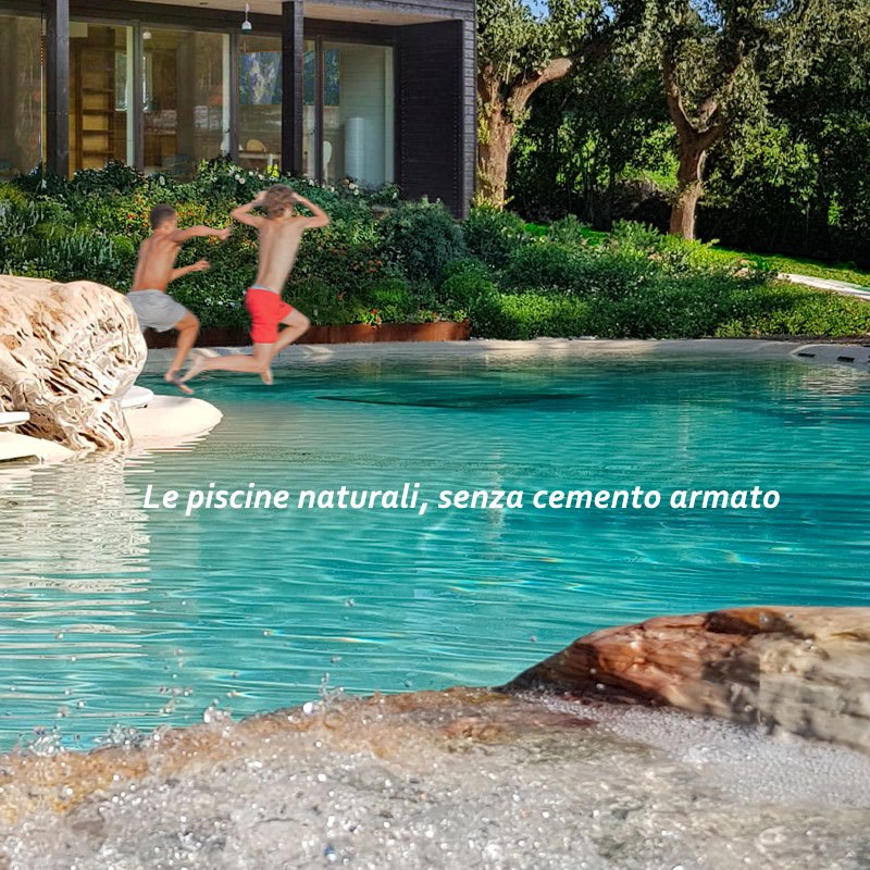 Cool piscina naturale biodesign realizzata da pellegrini for Case in bioedilizia opinioni