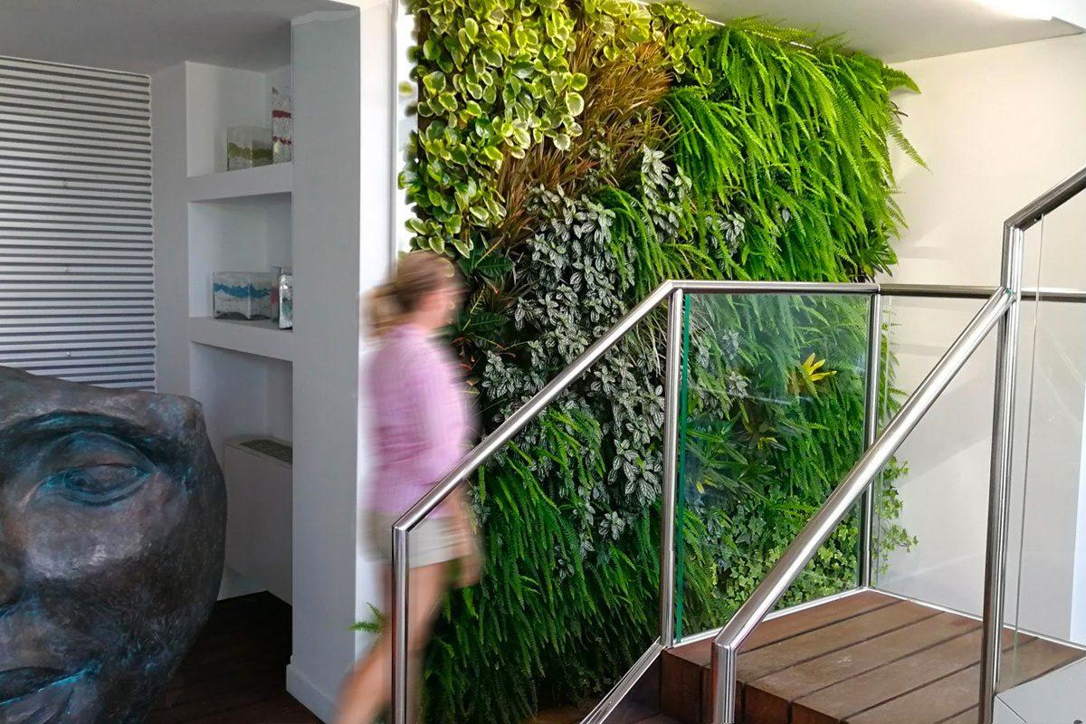 Giardino verticale indoor pellegrini giardini for Giardino verticale