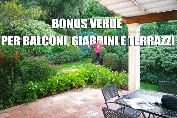 Excellent bonus verde per giardini e terrazzi privati with - Giardini sui terrazzi ...