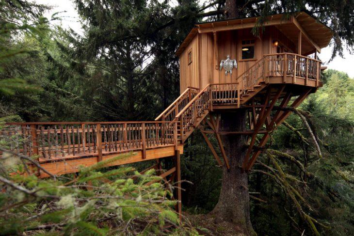 Una casa sull'albero