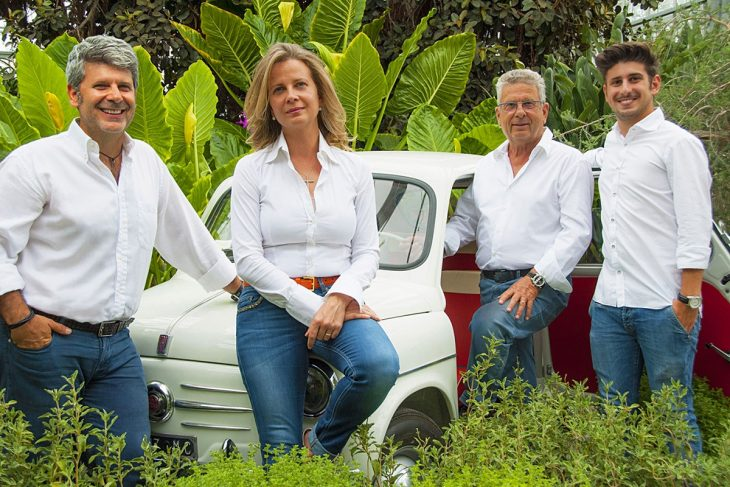 La famiglia Pellegrini